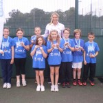 Thurton Netball team South Norfolk Champions and 3rd in Norfolk