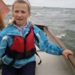 Learning how to sail on school residential Y5/6