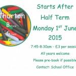 Thurton Before School Club
