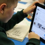 IPad's are used throughout the school.